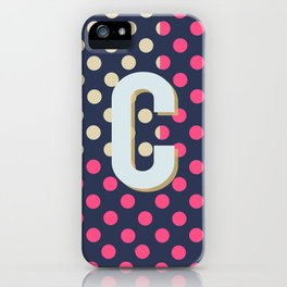 C is for Colorful iPhone Case