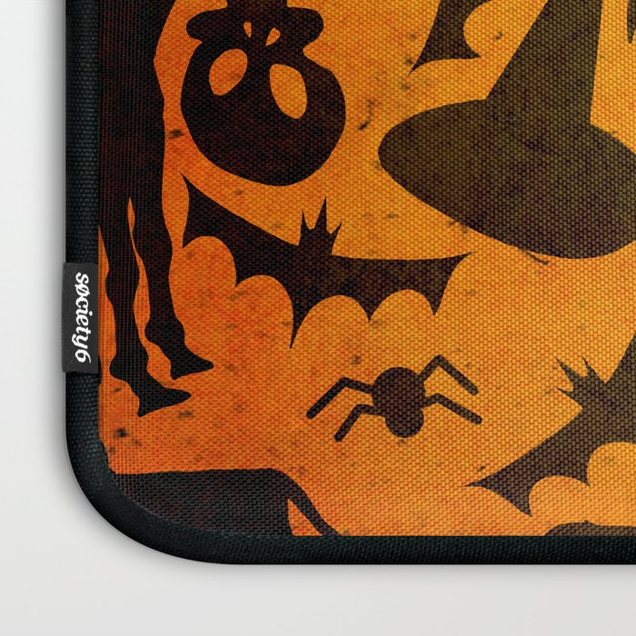 Halloween Spook Unicorn Laptop Sleeve