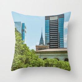 Bryant Park III Throw Pillow