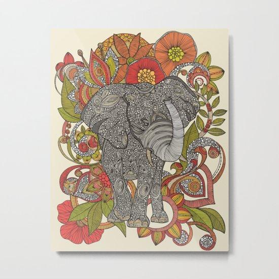 Bo the elephant Metal Print