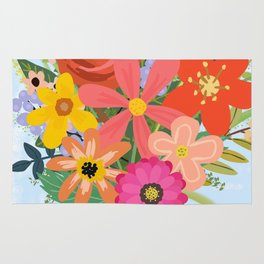 Wildflower Bouquet Rug