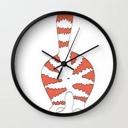 cats butts Wall Clock