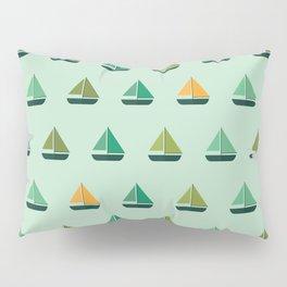 Sailboat parade Pillow Sham