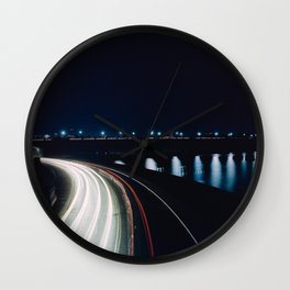 Ohio Drive and the Memorial Bridge Wall Clock