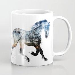 Horse (Summer Friesian) Coffee Mug