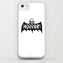 Skull Bat Horror! iPhone Case