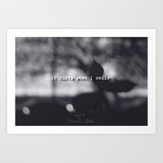 They come at night Art Print