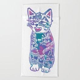 What's New Pussycat? Beach Towel