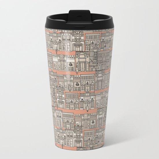 Avenue des Mode Metal Travel Mug