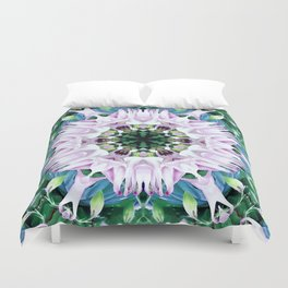 Columbine Abstract Duvet Cover