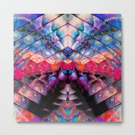 abstract diamond Metal Print