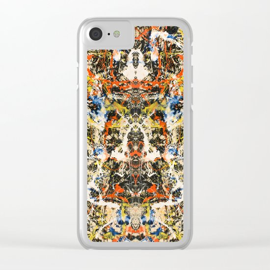 Reflecting Pollock 2 Clear iPhone Case