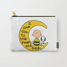 snoopy moon Carry-All Pouch