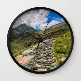 Snowdon Summit Wall Clock