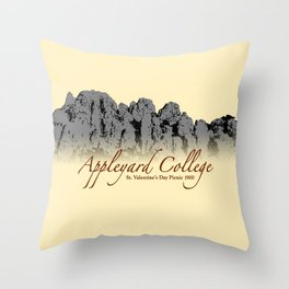 Appleyard College (PICNIC AT HANGING ROCK) Throw Pillow