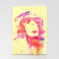 chill Stationery Cards featuring Chill by orangpalsu