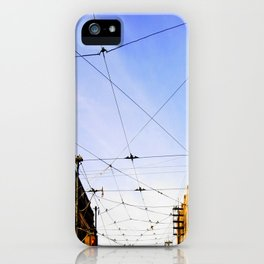 Queen Street Grid iPhone Case