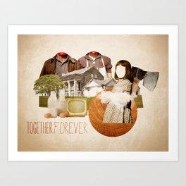 Together forever Art Print