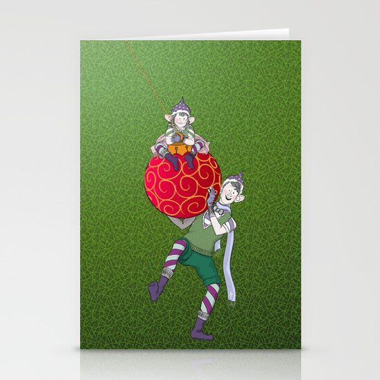 Christmas Nisse Stationery Cards