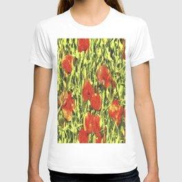 Poppys Van Goth Art T-shirt