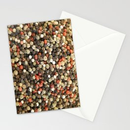 Pepper Background Stationery Cards