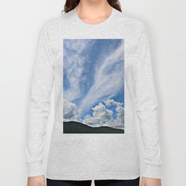 Cloud Path to the Milky Way Long Sleeve T-shirt