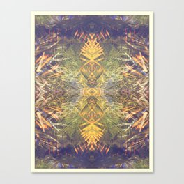 Tropical Kaleidoscope  Canvas Print