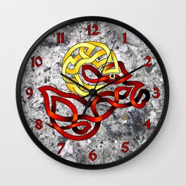 Ram's Head Knot Wall Clock