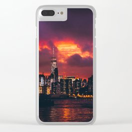 This Wild Sky Clear iPhone Case