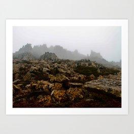 Rocks of Cradle Art Print