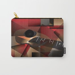 Man in red playing the guitar Carry-All Pouch