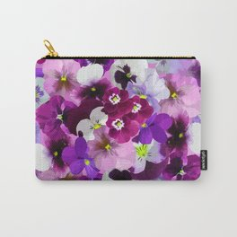 FLORAL GARDEN 9 Carry-All Pouch