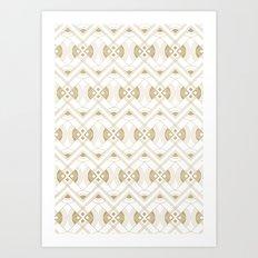 Deco print Art Print