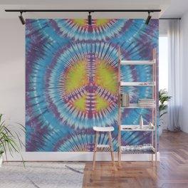 Peace Tie Dye Wall Mural