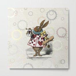 The Hare Metal Print