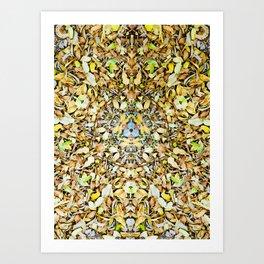 A Circle of Leaves Art Print