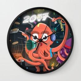 Hello 2017! Wall Clock
