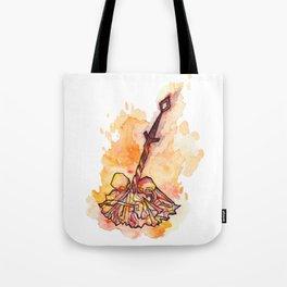 Dark Souls Bonfire Tote Bag