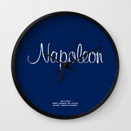 Howlin' Mad Murdock's 'Napoleon' shirt Wall Clock