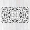 Pattern, geometric 3, black, white by temas14mk