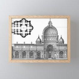 St. Peter Basilica - Rome, Italy Framed Mini Art Print