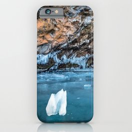 The Ice Grotto iPhone Case