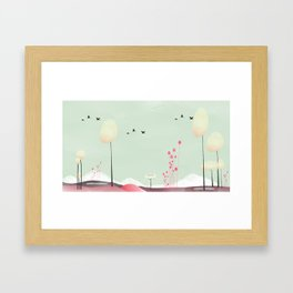 lambent Framed Art Print