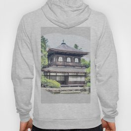 ginkaku ji temple japan Hoody