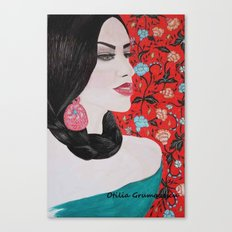 Spanish Dreaming Canvas Print