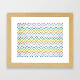 Retro 60 - Second Wave Framed Art Print