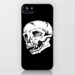 Skull Sketch iPhone Case
