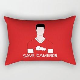 F*ck Ferris, Save Cameron Rectangular Pillow