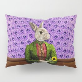 Miss Bunny Lapin in Repose Pillow Sham
