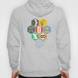 Math in color (white Background) Hoody